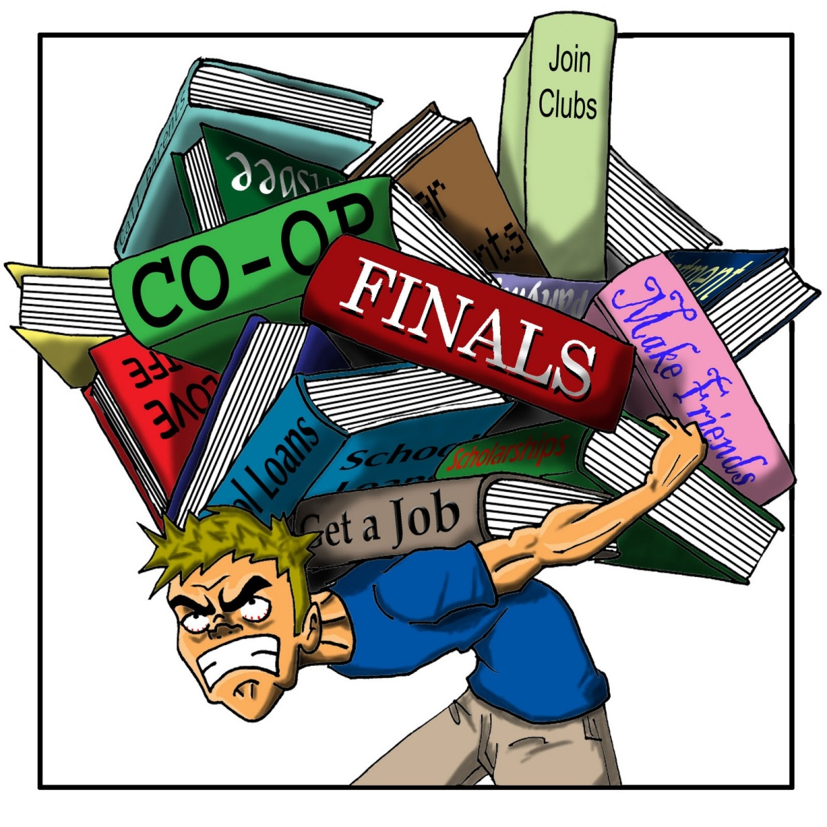 why does a lot of students feel After all, that's why students go to college - to learn when you don't get the results you think you should get, or you feel pressured to get certain academic results, this can cause a lot of stress.